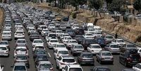 ترافیک نیمهسنگین در محور تهران- فشم