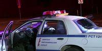 ماشین پلیس مسروقه سرصحنه فیلم، پیدا شد
