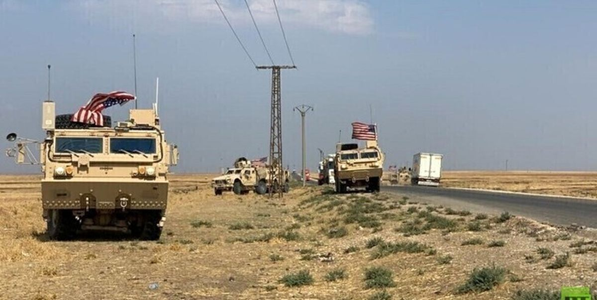 انهدام کاروان حامل تجهیزات تسلیحاتی آمریکا در الدیوانیه عراق