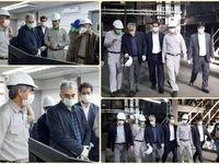 بازدید مدیرعامل شرکت مس از کارخانه 120هزار تنی ذوب خاتونآباد