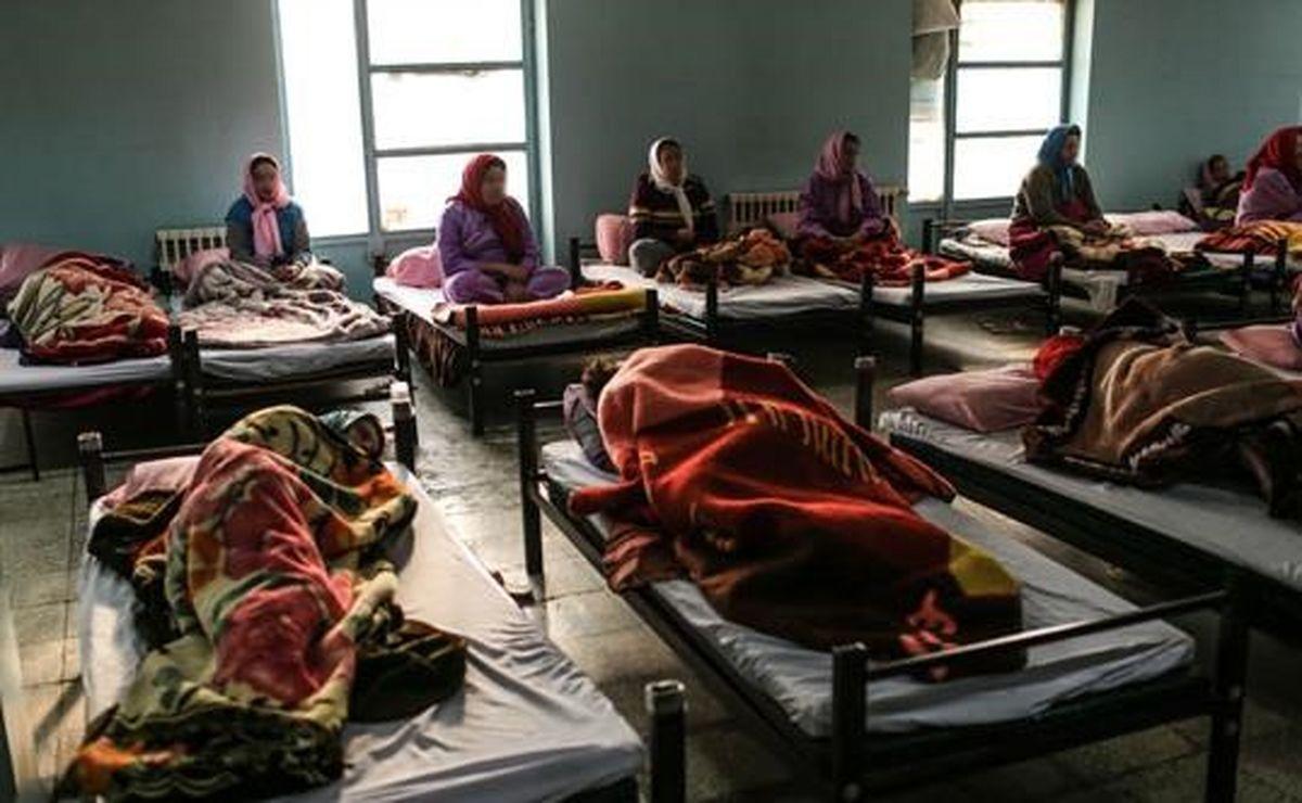 رعایت پروتکلهای بهداشتی توسط کارتن خوابها!