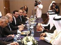 دیدار لاریجانی با رییس مجلس قطر