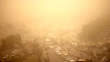 آسمان غبارآلود در برخی نقاط کشور