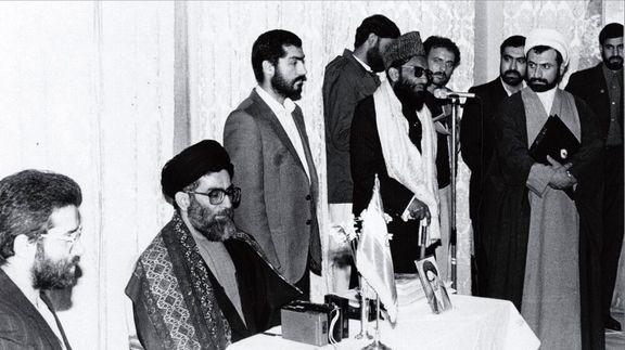 عکس کمتر دیده شده از رهبر انقلاب در پاکستان