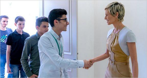 اولین تصاویر از اسما اسد بعد از بهبود سرطانش