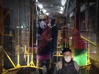 ضدعفونی ناوگان حمل و نقل عمومی شهر قم +عکس