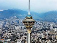 هوای پایتخت در نخستین روز بهار «سالم» است