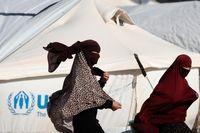 پوشش غربی عروس داعش +عکس