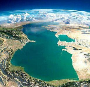 نمایی کمنظیر از دریای خزر +عکس