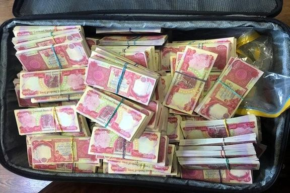 کشف ۵۹۸میلیون دینار تقلبی توسط پلیس فرودگاه