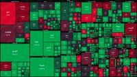 نمای پایانی بورس امروز/ بانکیها با لباسی سرخ به استقبال فردا رفتند