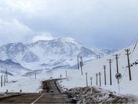 جلوههایی از برف در ارتفاعات کوهرنگ +تصاویر