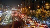 ترافیک تهران پس از تعطیلی ساعت۱۸ +عکس