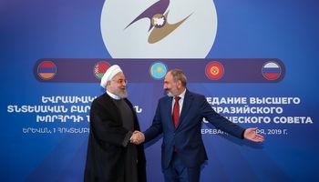 عکس یادگاری سران کشورها در اجلاس اتحادیه اوراسیا