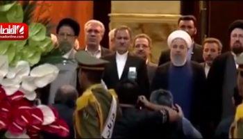 ادای احترام و تجدید پیمان اعضای دولت با آرمانهای امام +فیلم