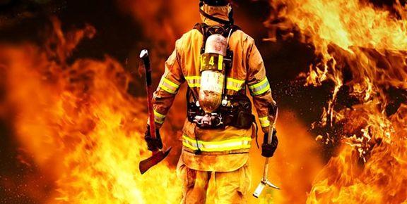 تعداد مصدومین آتشسوزی ایران چسب به 9نفر افزایش یافت