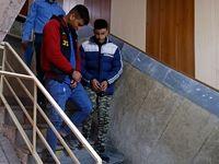 بازداشت 2موبایل قاپ با سلاح سرد +تصاویر