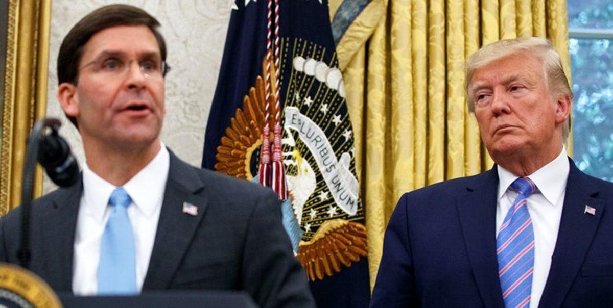احتمال استعفای وزیر دفاع آمریکا