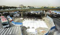 تهرانیها تا پایان سال درگیر ترافیک پل گیشا هستند/ باز هم تاخیر در افتتاح زیرگذر