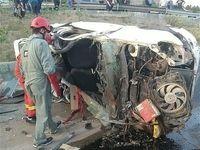 تصادف مرگبار مقابل دانشگاه پلیس +تصاویر