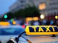 اقدام جالب یک راننده تاکسی برای جلوگیری از شیوع کرونا +فیلم
