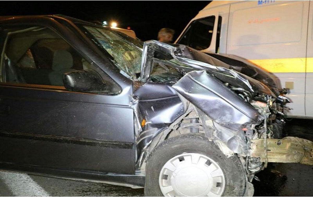 تصادف جادهای ۶کشته و ۱۲مجروح برجاگذاشت