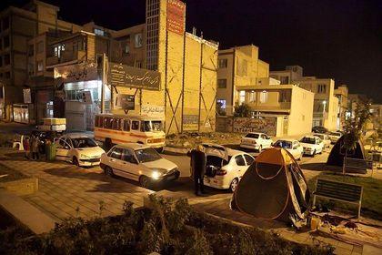 کرمانشاه پس از زلزله +تصاویر