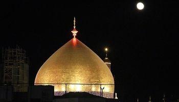حرم مطهر حضرت علی(ع) در آستانه اربعین حسینی +عکس