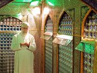 مراسم غبار روبی مضجع شریف، حضرت امام رضا(ع) +عکس