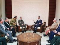 وزیر دفاع ایران با رئیس جمهور سوریه دیدارو گفتوگو کرد