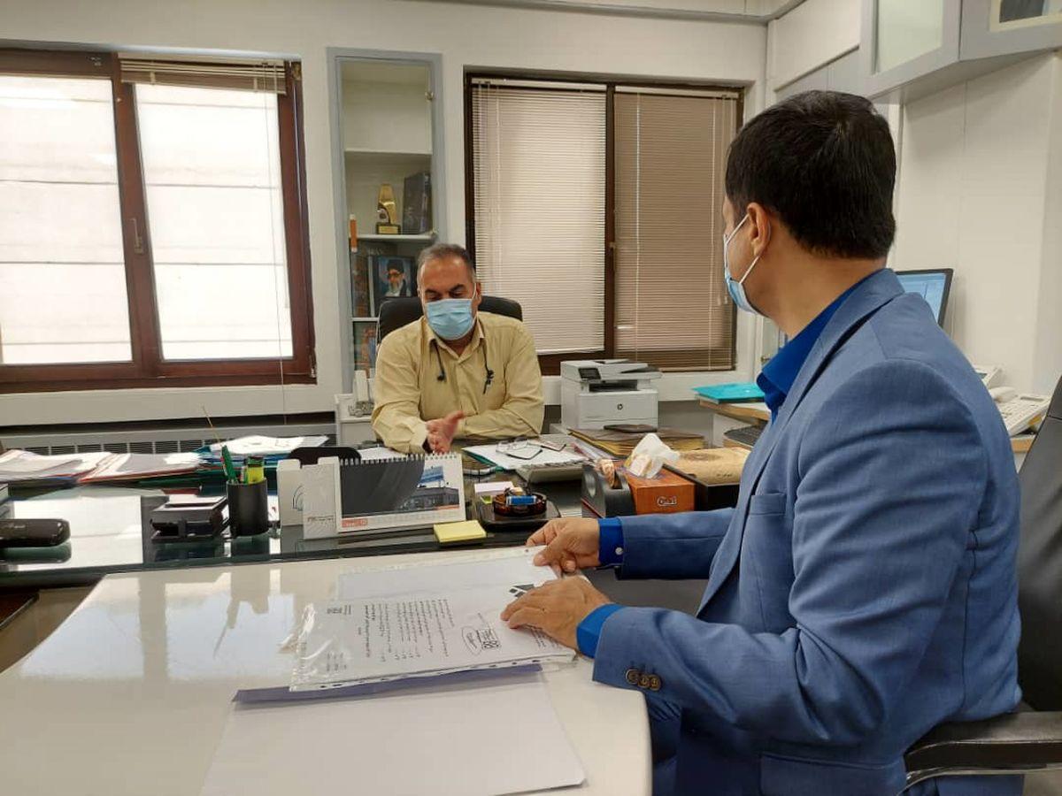 تقدیر از پیشگامی انجمن تولیدکنندگان شن و ماسه تهران در موضوع مسئولیت اجتماعی