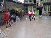 آبگرفتگی 72 منزل مسکونی در بارندگیهای اخیر