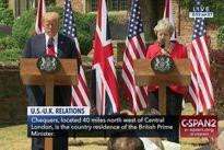 تاکید ترامپ و ترزا می بر لزوم حفظ فشارها بر ایران