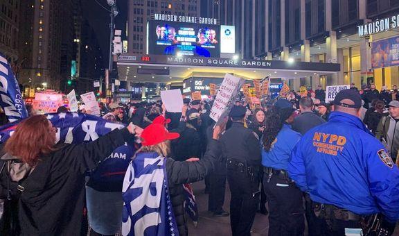 ترامپ در شهر نیویورک «هو» شد