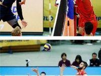 پیروزی غیرتمندانه والیبال ایران در برابر آمریکا
