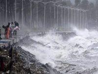 ابرطوفان «منگهوت» در فیلیپین