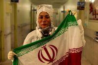 تصویری از پرستار فداکار در بیمارستان شهید چمران شیراز
