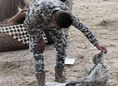 گور دستهجمعی کودکان در عراق +تصاویر