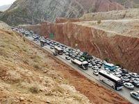 ترافیک سنگین در راههای ورودی به تهران