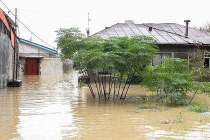سیل و آب گرفتگی در رودسر استان گیلان +فیلم
