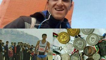 قهرمان جهانی که کولبری میکند +عکس
