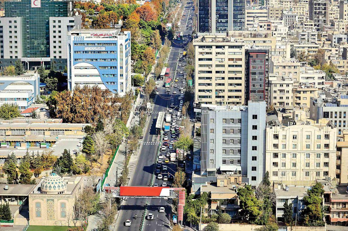 خیابان ولیعصر در انتظار تغییراتبزرگ