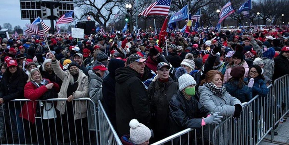 معترضان به نتیجه انتخابات آمریکا در واشنگتن دستگیر شدند