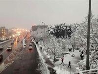 باران و برف ۴روز در کشور میبارد