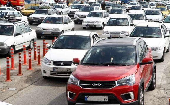 تهرانیها در حال ترک تهران