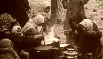 قحطیزدگی مردم تهران در جنگ اول جهانی +عکس