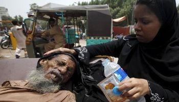 موج گرما در هند ۳۶ قربانی گرفت