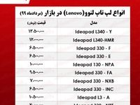 قیمت لپ تاپ لنوو +جدول