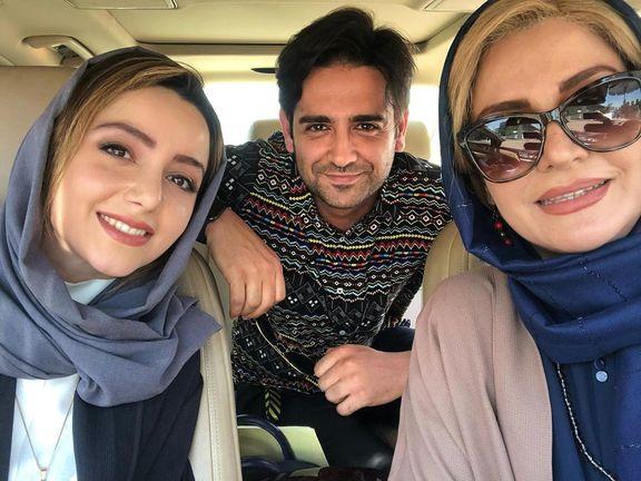 سلفی خوش و خرم بازیگران دل +عکس