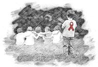 قصه رنجوری مبتلایان کوچک اچآیوی